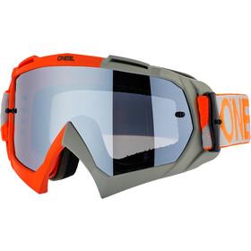 O'Neal B-10 Goggles twoface-orange/gray-silver mirror
